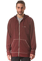 OAKLEY Pennycross Hooded Zip Sweat red mahagony