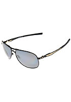 OAKLEY Plaintiff Polarized Sunglasses matte blk/ gold/ grey polar