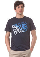 OAKLEY Quad Factory S/S T-Shirt navy blue