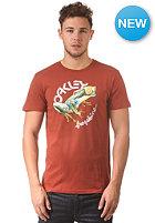 OAKLEY Rock The Frogskins S/S T-Shirt burnnt henna
