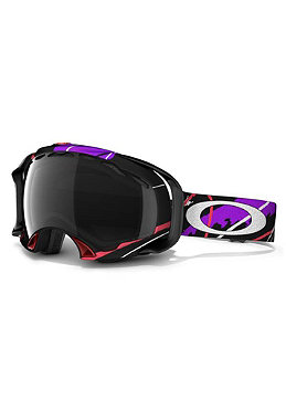 OAKLEY Splice Goggle 2012 Simon Dumont Signature/dark grey polarized
