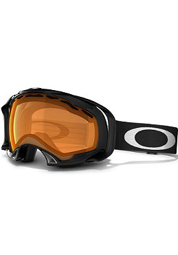OAKLEY Splice Goggle jet black / persimmon