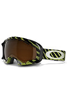 OAKLEY Splice Shaun White Signature Snow Goggle 2013 highlight mint/black iridium