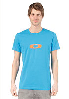 OAKLEY Square Me S/S T-Shirt pacific blue