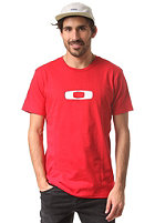 OAKLEY Square Me S/S T-Shirt red line