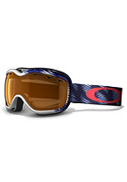 OAKLEY Stockholm Snow Goggle 2013 snow trac white-blue/persimmon