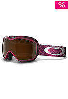 OAKLEY Stockholm Snow Goggle 2013 sunset plume/black iridium