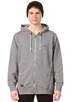 OAKLEY Whale Calls Hooded Zip Sweat heather grey