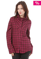 OAKLEY Womens Cairn Flannel L/S Shirt magenta purple
