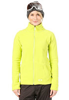 OAKLEY Womens Fit Fleece Jacket lightning green