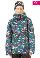 OAKLEY Womens Fit Insulated Jacket lightning green
