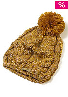 OAKLEY Womens Snow Ridge Pom Beanie copper canyon