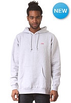OBEY Bar Logo Hooded Sweat heather grey