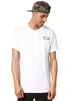 OBEY Bar Logo S/S T-Shirt white