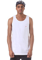 OBEY Bar Logo Tank Top white