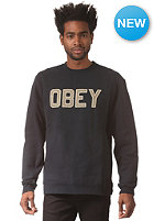 OBEY Belton Crew Sweat navy