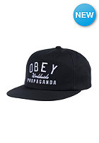 OBEY Club Snapback black