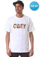 OBEY Collage S/S T-Shirt white