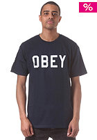 OBEY Collegiate S/S T-Shirt navy