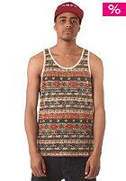 OBEY Folklore Tank Top tan stripe