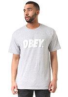 OBEY Font heather grey
