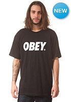 OBEY Font S/S T-Shirt black / white
