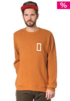 OBEY Hitter Sweatshirt heather sudan brown
