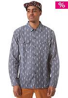 OBEY Hoffman Woven L/S Shirt indigo