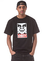 OBEY Icon Face S/S T-Shirt black