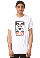 OBEY Icon Face S/S T-Shirt white