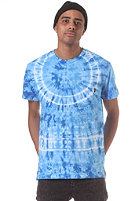 OBEY Indigo Burst Pocket S/S T-Shirt bright indigo