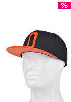 OBEY Legacy Snapback Cap black / orange