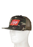 OBEY Malt Liquor Trucker Cap field camo