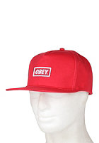 OBEY New Original Snapback Cap red