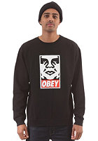 OBEY Obey Icon Face Sweatshirt black