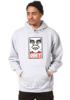 OBEY Og Face Hodded Sweat heather grey