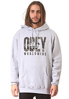 OBEY OG NY Hooded Sweat heather grey