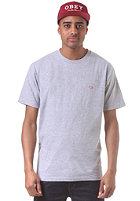 OBEY Quality Dissent S/S T-Shirt heather grey