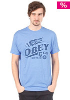 OBEY Rip It Up S/S T-Shirt royal heather
