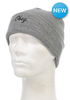 OBEY Script Beanie heather grey