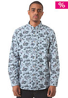 OBEY Shelly Woven L/S Shirt light blue