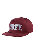 OBEY The City maroon