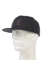 OBEY The City Snapback Cap jet black