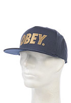 OBEY The City Snapback Cap navy
