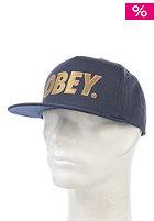 OBEY The City Snapback Cap navy