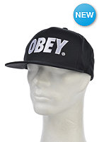 OBEY The City Snapback Cap onyx