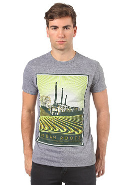 OBEY Urban Roots S/S T-Shirt heather grey