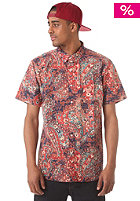 OBEY Wanderer Woven S/S Shirt navy