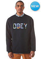 OBEY Wharf Crew Sweat navy