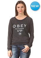 OBEY Womens 89 Sweatshirt black
